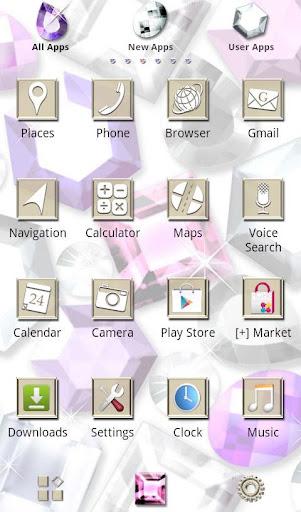 Cute Theme-Glittering Gems- 1.1 Windows u7528 2