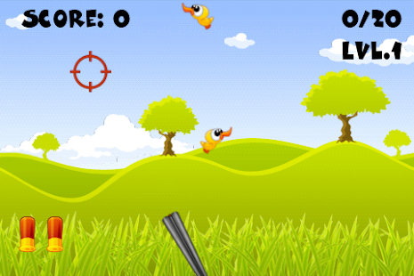 Shoot The Ducks - Free- screenshot thumbnail