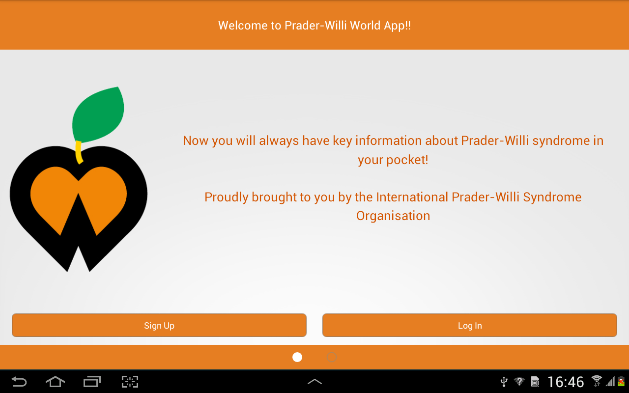 Prader-Willi World- screenshot