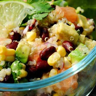 Black Bean, Quinoa & Citrus Salad