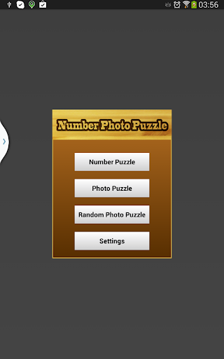 Number Photo Puzzle Game