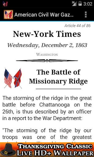 1863 Dec Am Civil War Gazette