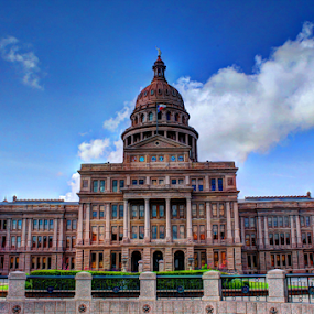 Republic Of Texas Capital by Sal 1701 - Buildings & Architecture Public & Historical