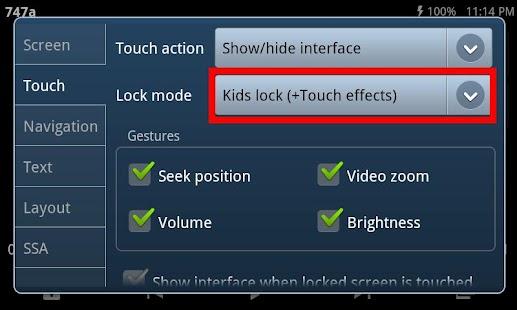 Kids Lock (plugin)- screenshot thumbnail