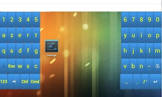 Screenshot of Xantus Keyboard