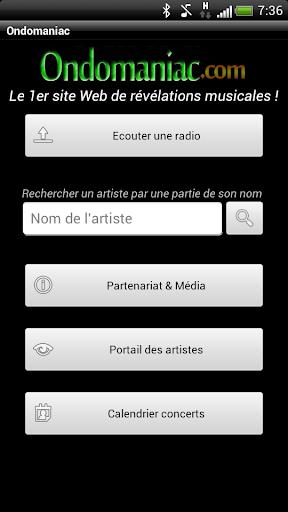 Radios Ondomaniac Music