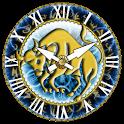 zZodiac Taurus clock! logo