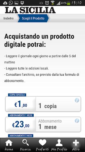 La Sicilia Edicola Digitale 4.8.030 screenshots 4