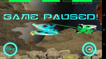 Screenshot of Weird Dog Space Demo