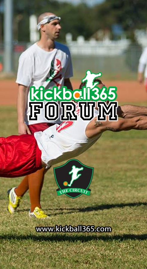Kickball365 Forum - screenshot