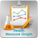Health Measure Graph icon