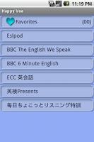 Screenshot of Happy VOA-ESL - Learn English