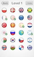 Screenshot of Logo Quiz: Flags Edition