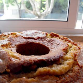 Orange Cake with Port Wine.