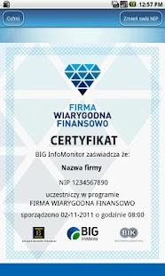 Firma Wiarygodna Finansowo- screenshot thumbnail