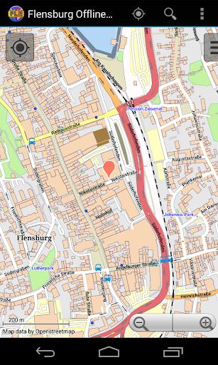 【免費旅遊App】Flensburg Offline City Map-APP點子