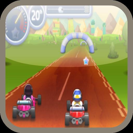 Mario Go Kart Racing
