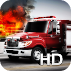 Fire Rescue Parking 3D HD icon