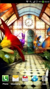 Magic Greenhouse 3D Pro lwp - screenshot thumbnail