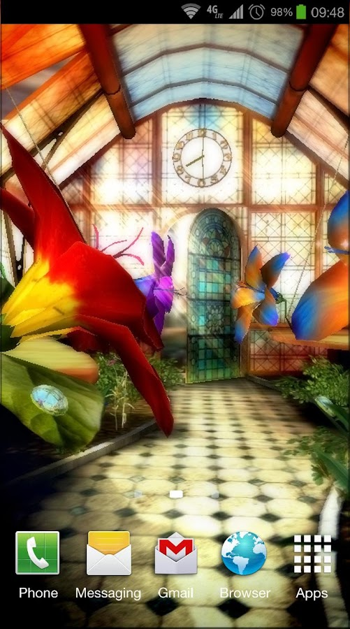 Magic Greenhouse 3D Pro lwp - screenshot