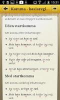 Screenshot of Sproghjælp