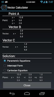 Vector Calculator DONATE- screenshot thumbnail