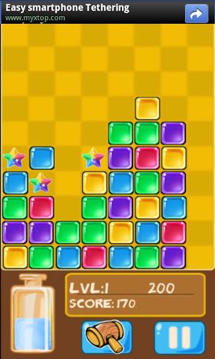 Glass Match Blast Screenshot