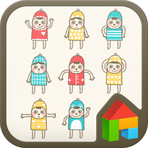 Knit Man Dodol launcher theme