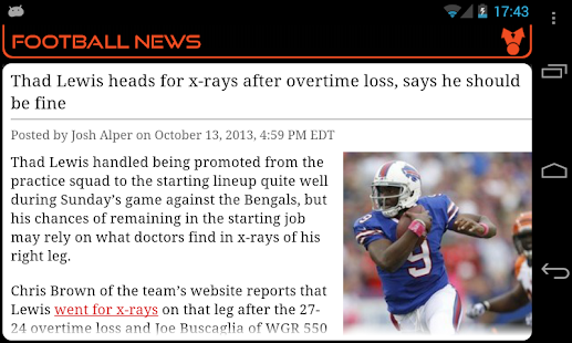 Cincinnati Football News - screenshot thumbnail
