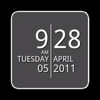 SDS2 Clock Widget