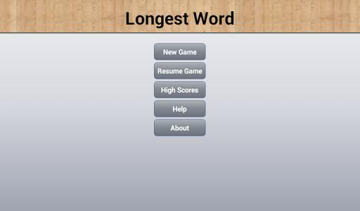 Longest Word