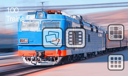 100火车 - 无广告为孩子们的图画书