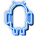 Neon Blue GO Theme Unlock Key icon