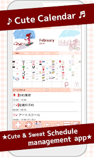Simple and fashionable diary planner Coletto Calendar iOS App ...