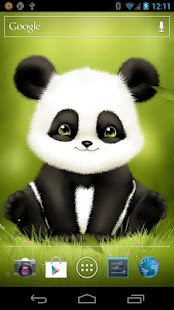 Panda Bobble Live Wallpaper- screenshot thumbnail
