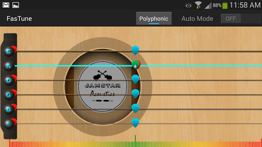 玩免費音樂APP|下載FASTUNE!免費電吉他調音器 app不用錢|硬是要APP