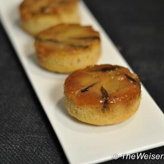 Apple Tarragon Upside-Down Cakes
