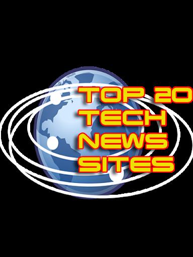Top 20 Tech News Sites