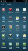 Screenshot of Small Icons Apex/Nova Theme
