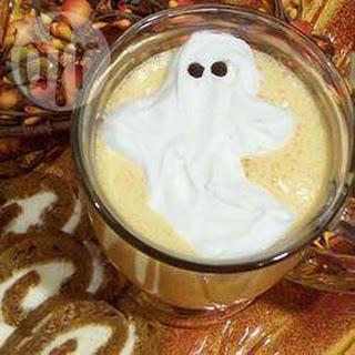Spookachtige milkshake voor Halloween