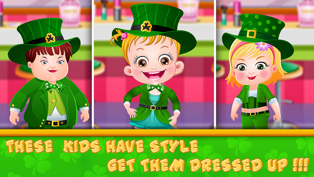 Baby Hazel St Patricks Day- screenshot