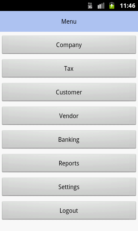 Accounter- screenshot