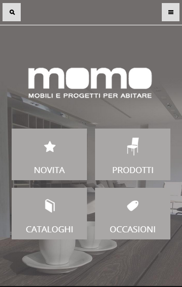 Momo Arredamento- screenshot