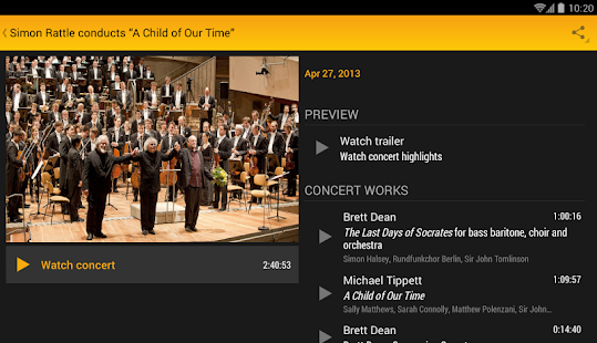 Digital Concert Hall Screenshot 31