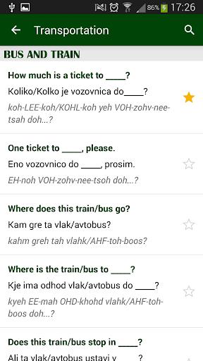 【免費旅遊App】斯洛文尼亚短语-APP點子