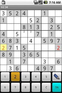 OpenSudoku- screenshot thumbnail