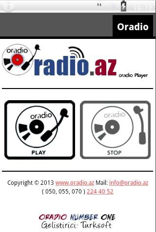 Radyo Oradio- screenshot