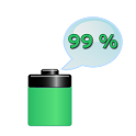 Talking Battery icon