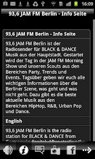 JAM FM - screenshot thumbnail
