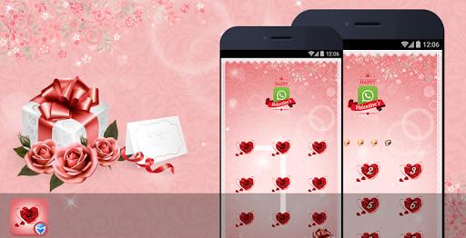 应用锁主题 - 情人节玫瑰